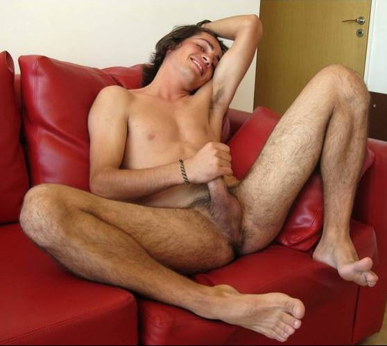 Sexy male legs and feet