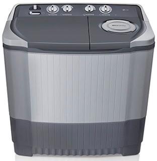 mesin cuci LG - twin tube