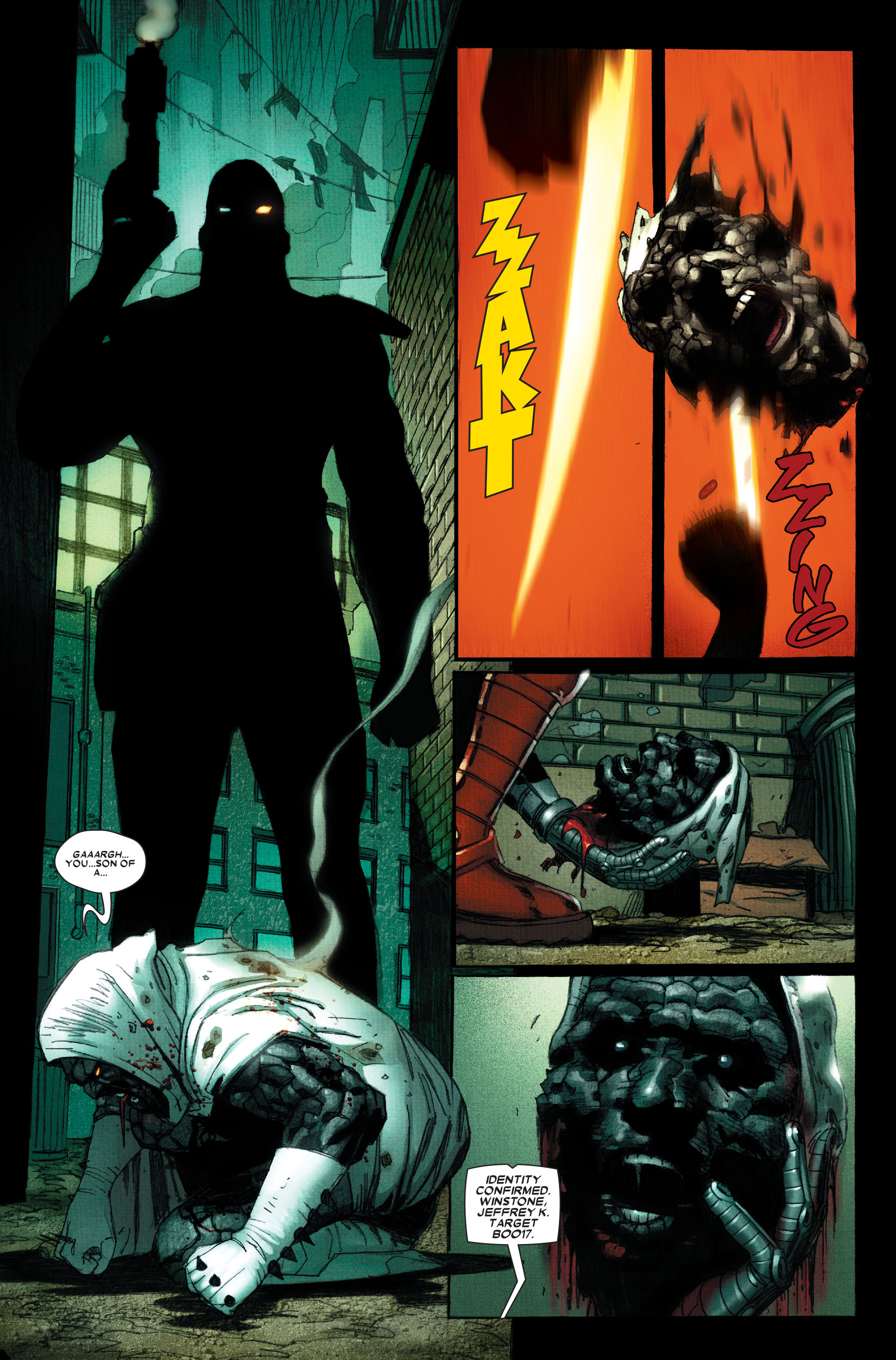 Wolverine: Weapon X #11 #6 - English 6