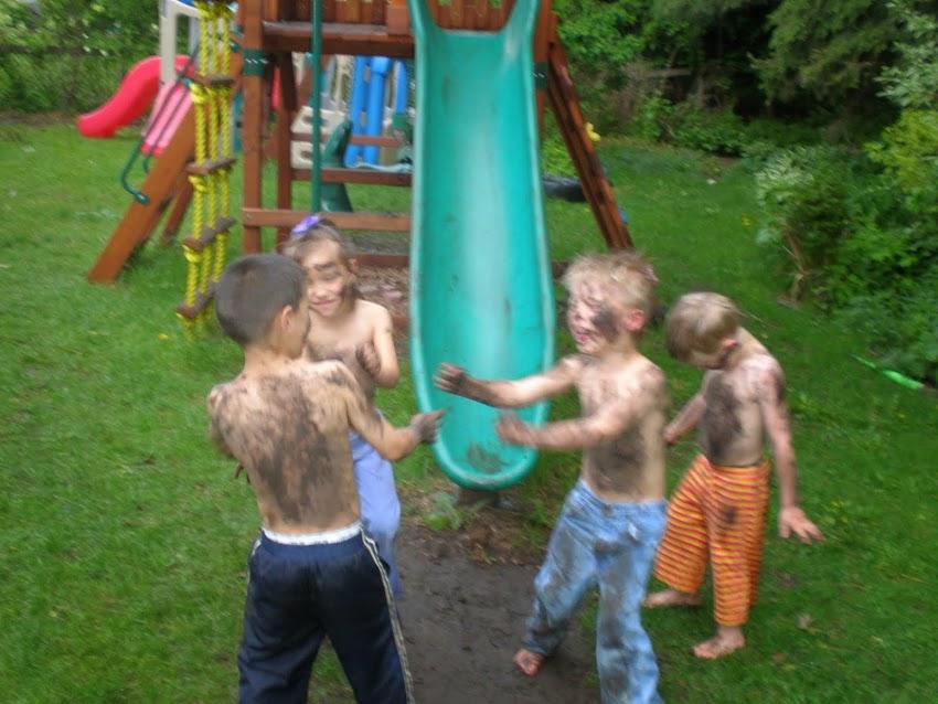 Messy kids