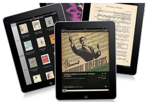 National Library's iPad app makes sweet music