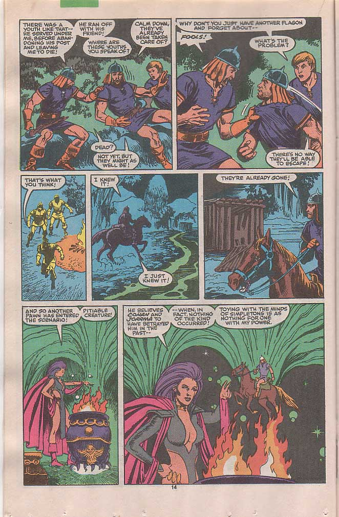Conan the Barbarian (1970) Issue #236 #248 - English 12