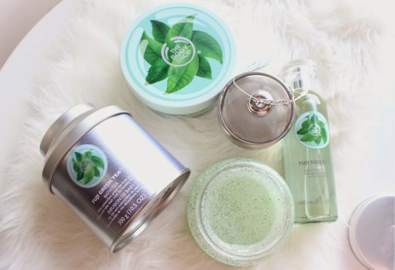 The Body Shop Fuji Green Tea Collection