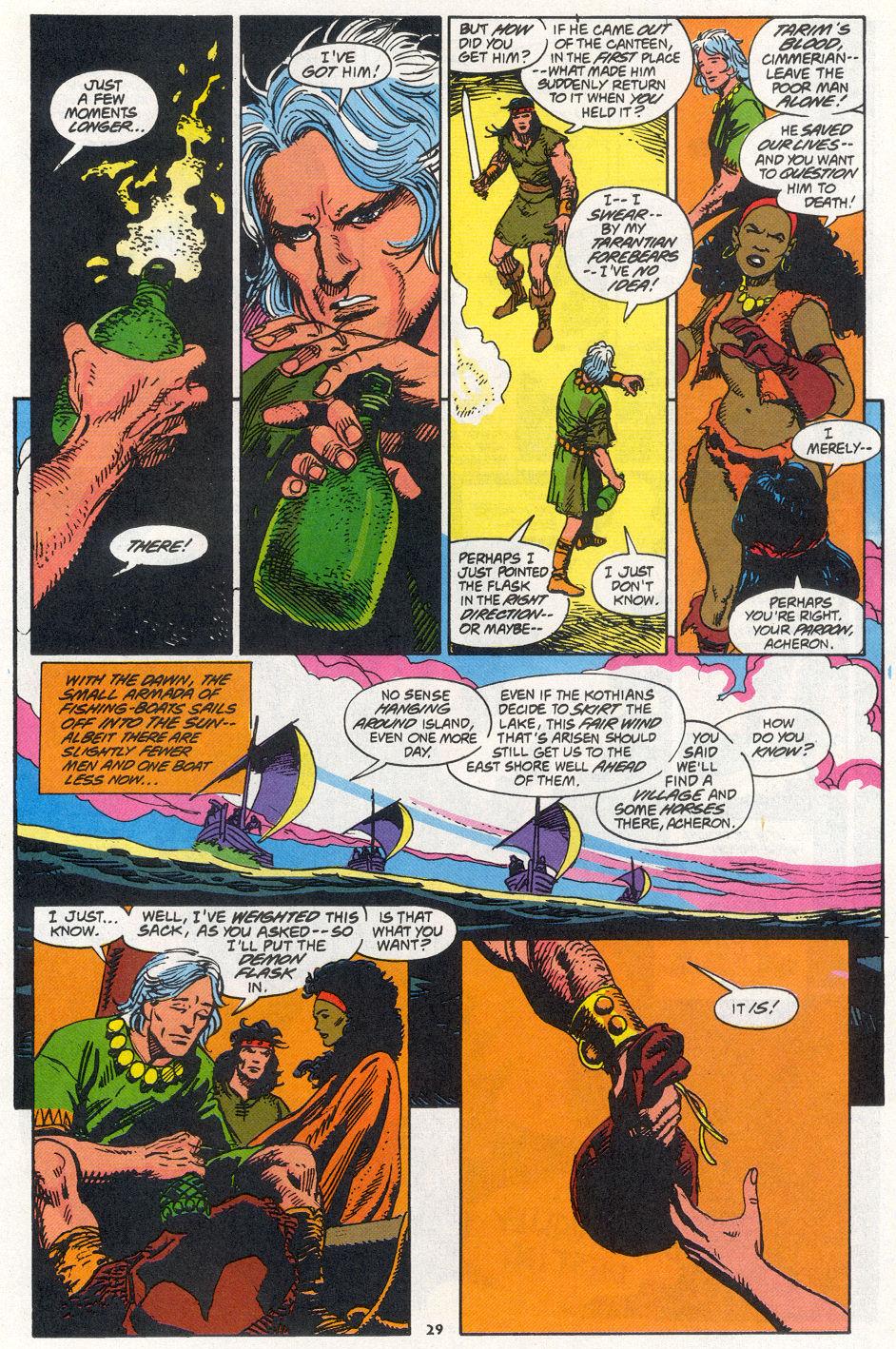 Conan the Barbarian (1970) Issue #270 #282 - English 21