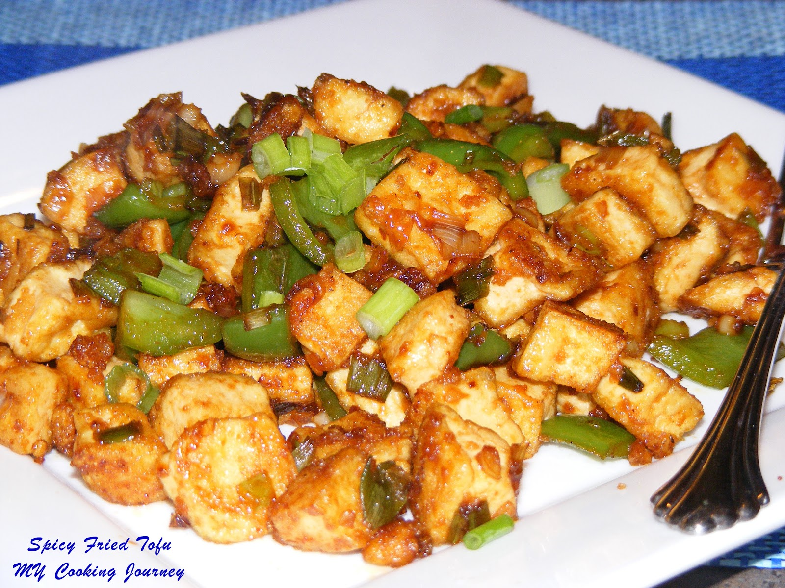Spicy fried tofu - My Cooking Journey ...
