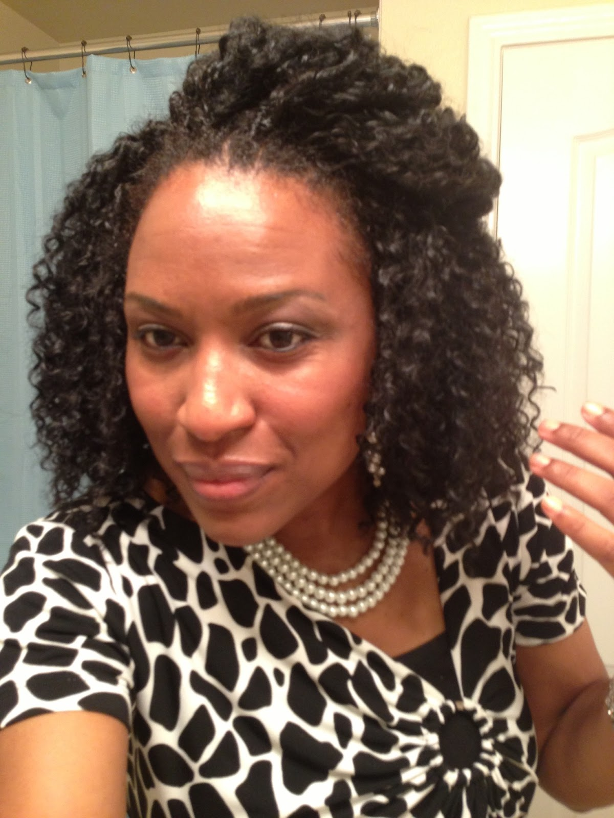 Crochet Braids Straight Hair Ive had my crochet braids in