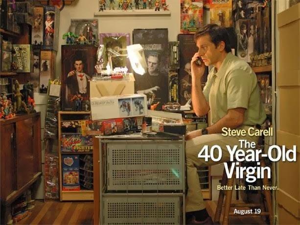 40 year old virgin fast dating scene