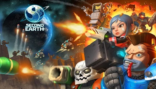 Second Earth Android Game Apk Full Download.