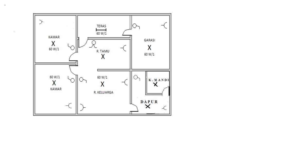 Ete speed perencanaan intalasi listrik rumah tinggal 12 gambar diagram garis tunggal ccuart Images
