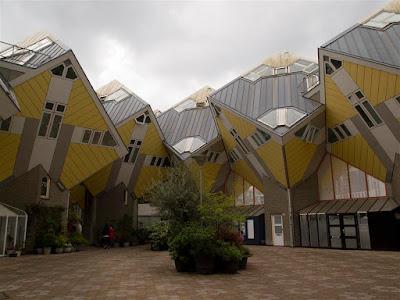 Casas Cúbicas de Rotterdam