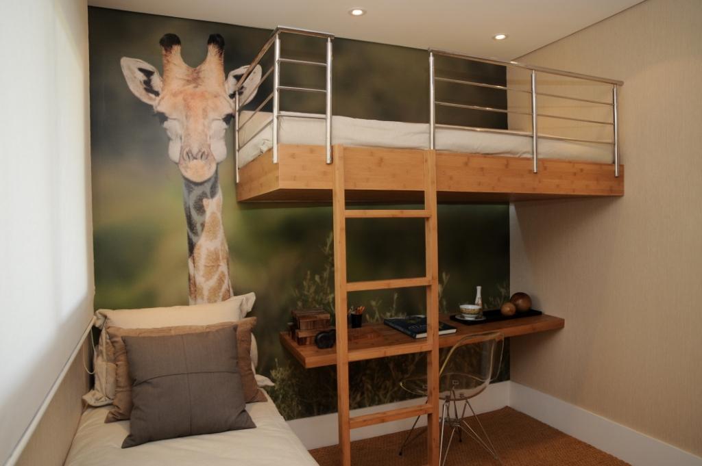 decoracao de interiores para ambientes pequenos : decoracao de interiores para ambientes pequenos:Grade protetora para cama em aço inox
