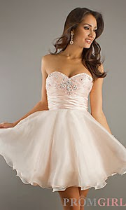 latest models Short prom dresses