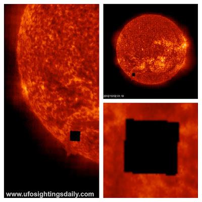 Giant Black Cube Orbiting The Sun Detected on NASAs SOHO photos Door,+UFO,+UFOs,+sighting,+sightings,+borg,+star+trek,+sun,+October,+2012,+ET,+Akrij,+W56,+CTR,+Top+secret,+Sun,+Corona,+solar,+door,+doorway,+space,+nasa,+soho