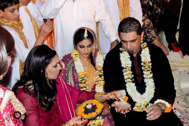 annie khalid marriage photo