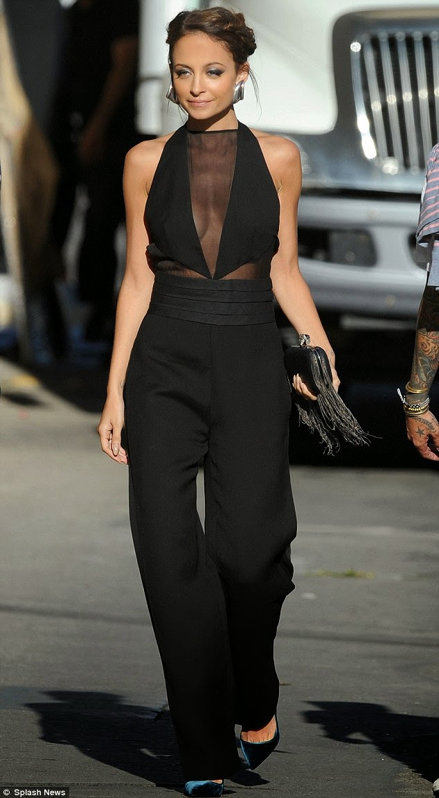 women's black jumpsuit
