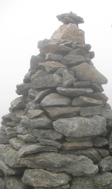 Mount Washington summit cairn