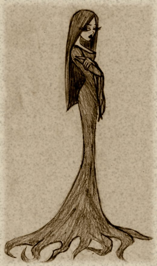 Morticia Addams por House-of-Creativity