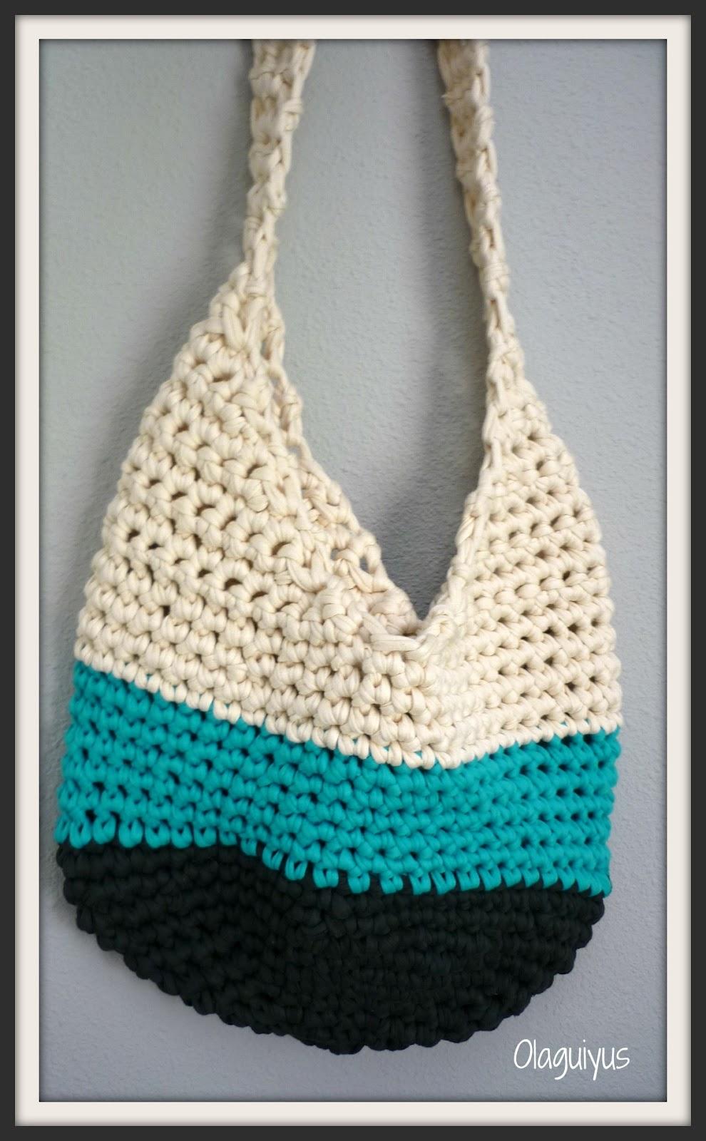 Patrones con trapillo (3): bolso saco | DulcesAmigus