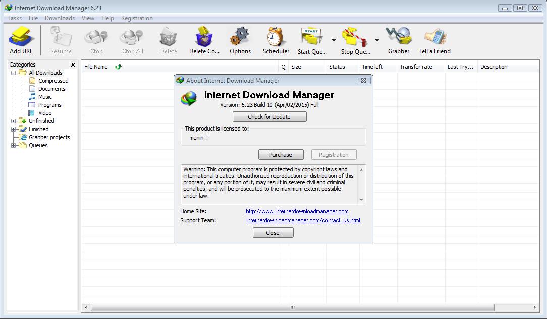 idm internet  manager crack serial number