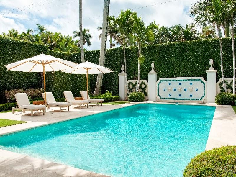 A dutch colonial in palm beach - Palm beach pool ...