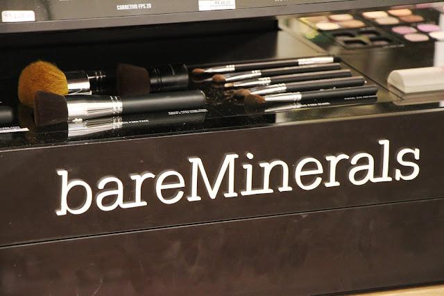 Lançamento da Maquiagem BareMinerals na Lord Perfumaria