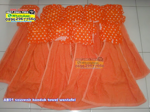 souvenir handuk towel wastafel grosir
