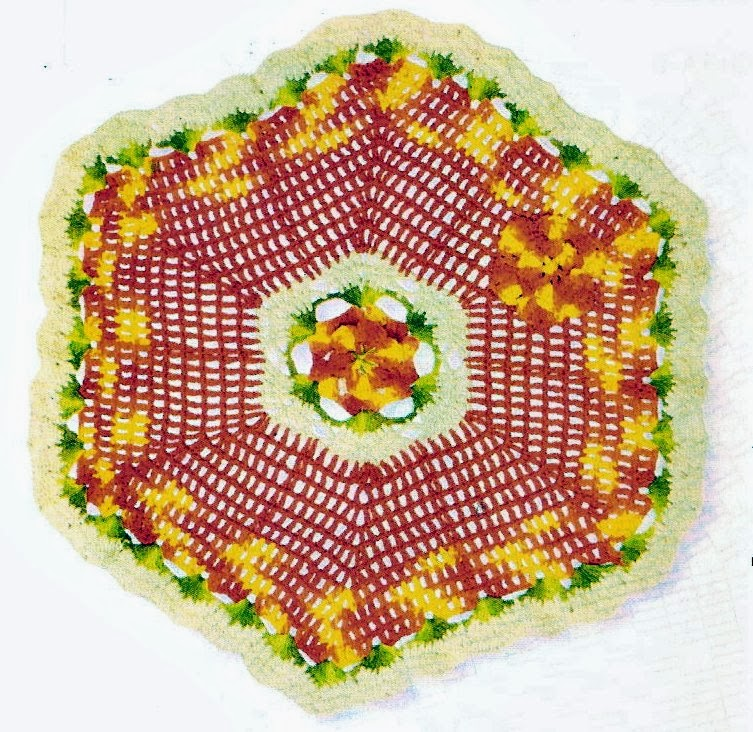 croche dissemelhante em croche com receita