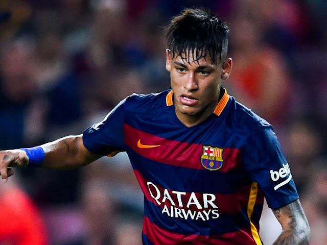Neymar có thể được chuyển nhượng sang Man Chester United 130 triệu bảng