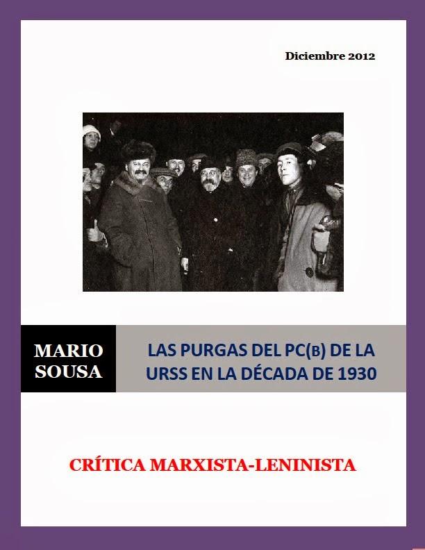 Las purgas del PC(b) de la URSS en la década de 1930