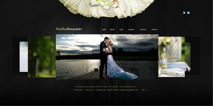 Flash XML Template Wedding Photographer