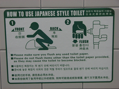 Why can t they post this in every toilet in Japan  That s all I needed   Possibly add video to it too. Memoirs of a Gaijin   An Unlucky English Teacher in Japan  The