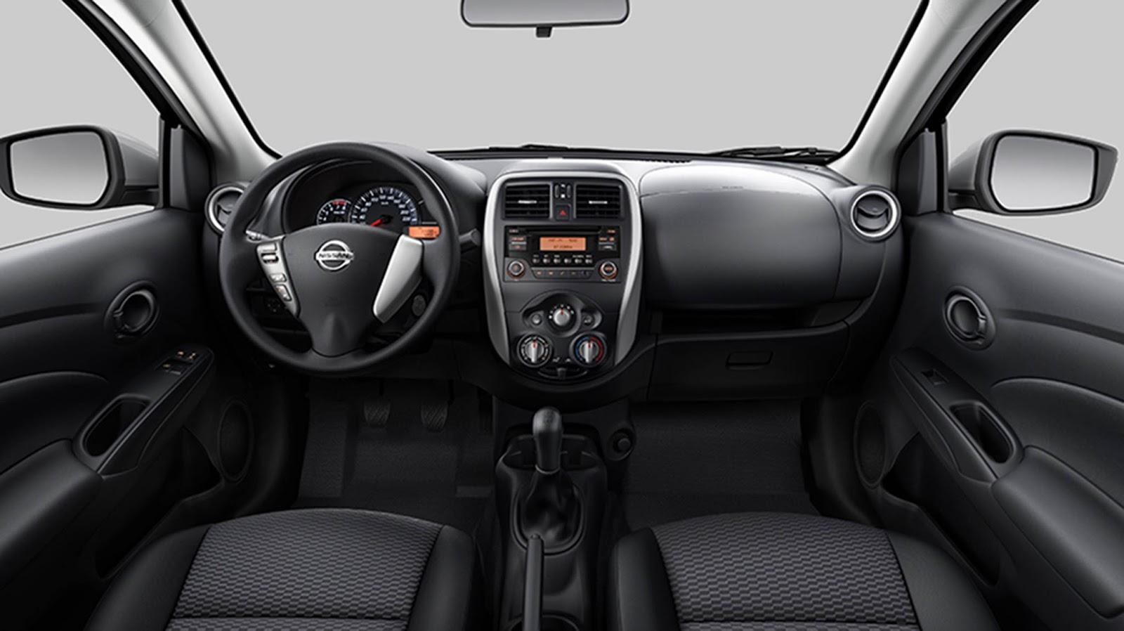 novo Nissan Versa 2015 - interior - painel