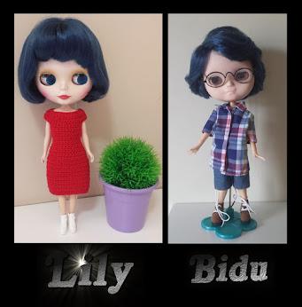 Lily e Bidu