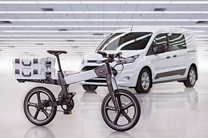Ford; E Otomobil +  E Bisiklet