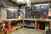 Garage Tool Storage Workbench