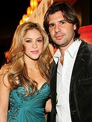Shakira with his husband boyfriend