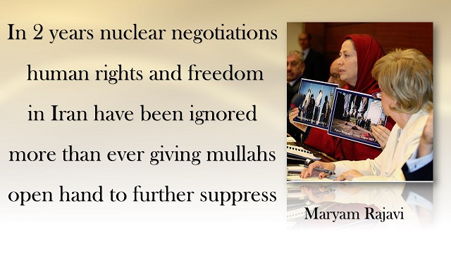 Iran-Maryam Rajavi's message to a meeting on human rights in Iran at the British House of Commons