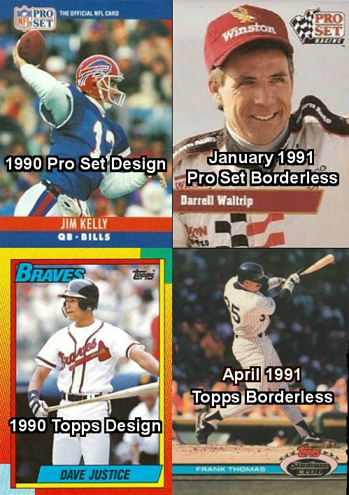 Borderless Cards By Topps Takes Down Pro Set
