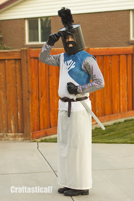 Sir Bedivere from Monty Python homemade Halloween costume