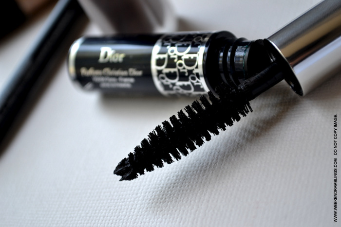 Makeup Diorshow Mascara Rich Black 090 Beauty Blog Reviews Ingredients Best Natural Looking Dark Lengthening