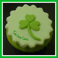 Easy Saint Patricks Day Fondant Gumpaste Cupcake Toppers Tutorial