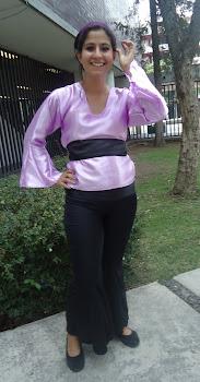 vestuario mujer para dabke libanes