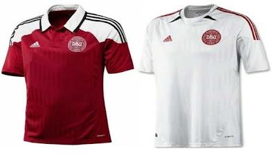 jersey Denmark EURO Cup 2012