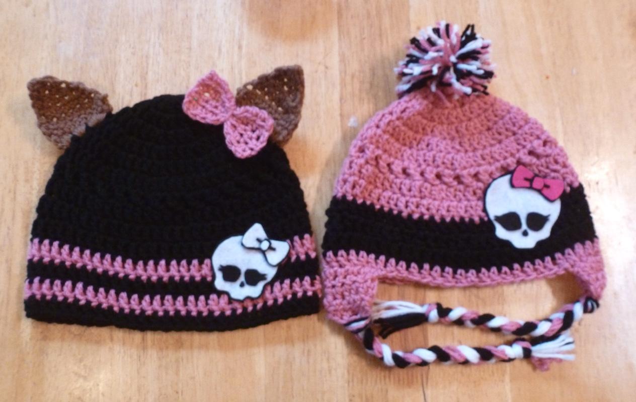 Free Crochet Pattern For Monster High Hat ~ manet for .