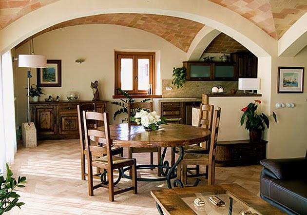 muebles macizos roble decoración