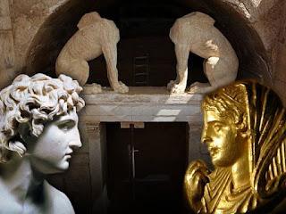Νέες αποκαλύψεις για τον ΤΑΦΟ – ΙΕΡΟ του ΤΥΜΒΟΥ ΚΑΣΤΑ της Αμφίπολης (ΒΙΝΤΕΟ)