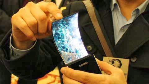 Samsung Galaxy Round Smartphone dengan Layar Fleksibel Pertama di Dunia