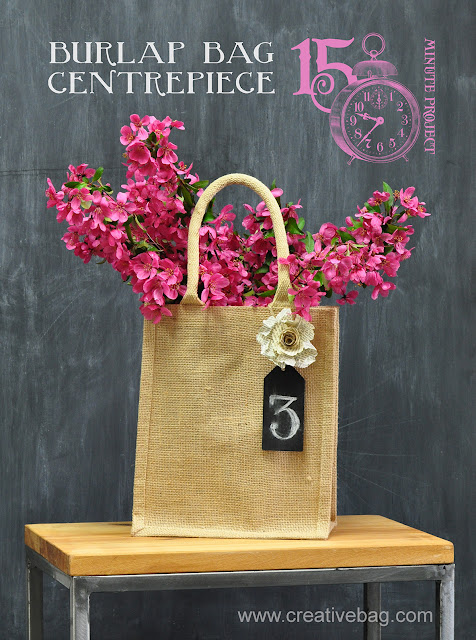 burlap packaging ideas from Creative Bag Co. Ltd