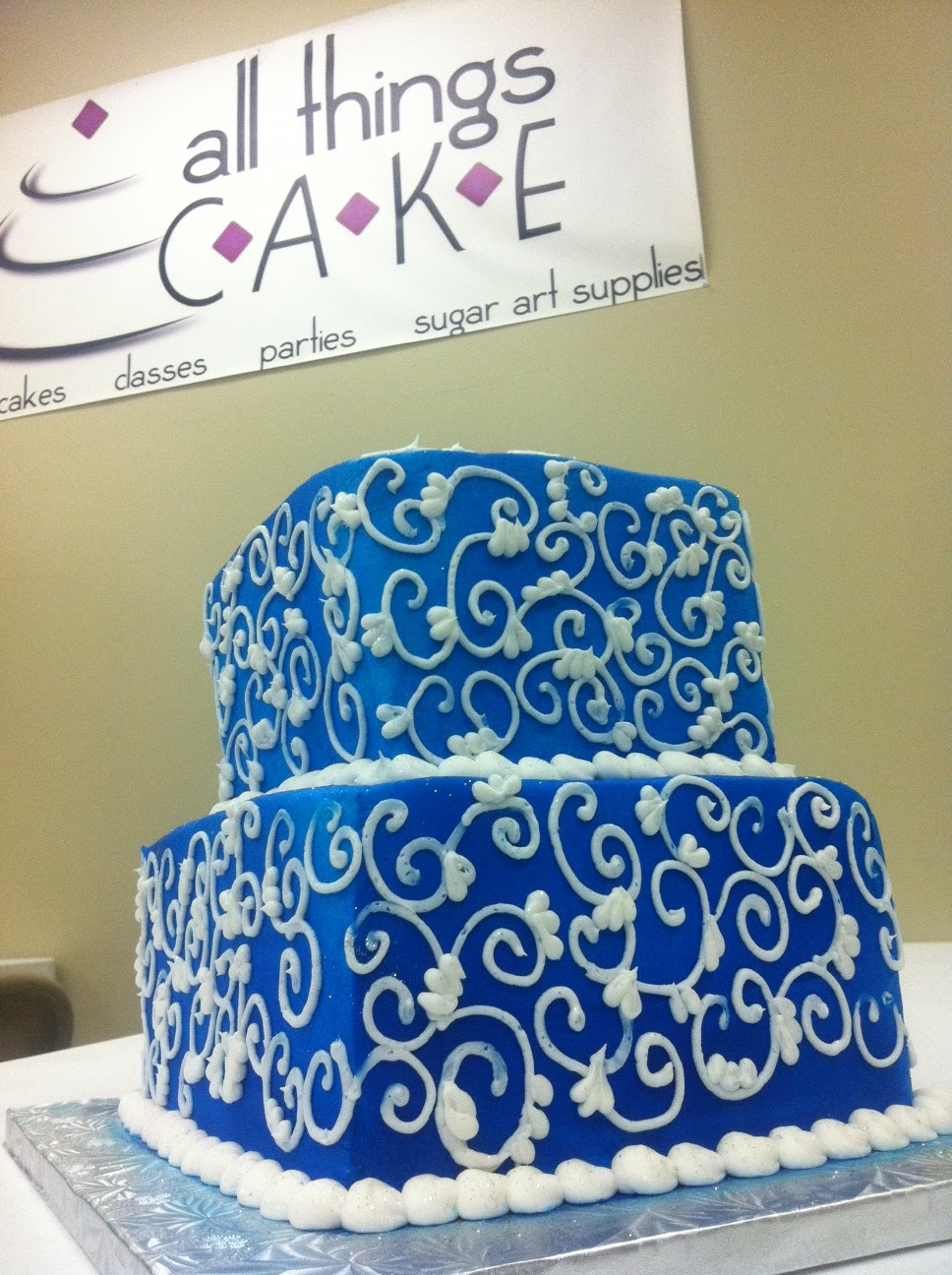 Cake Decorating Classes Near Tulsa : All Things Cake: Feeling Blue? Eat Cake!