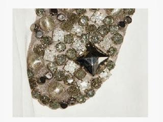 cuello vestido de fiesta Victoria Beckham